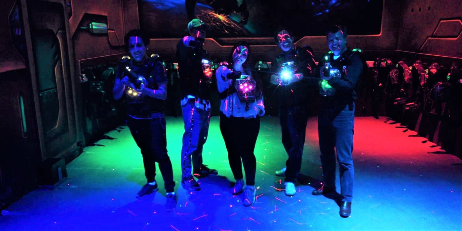 Space Laser Game Team